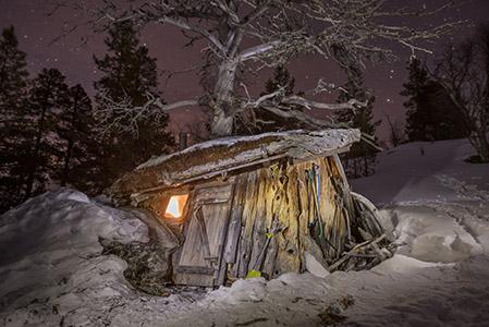 Hemmelig hytte